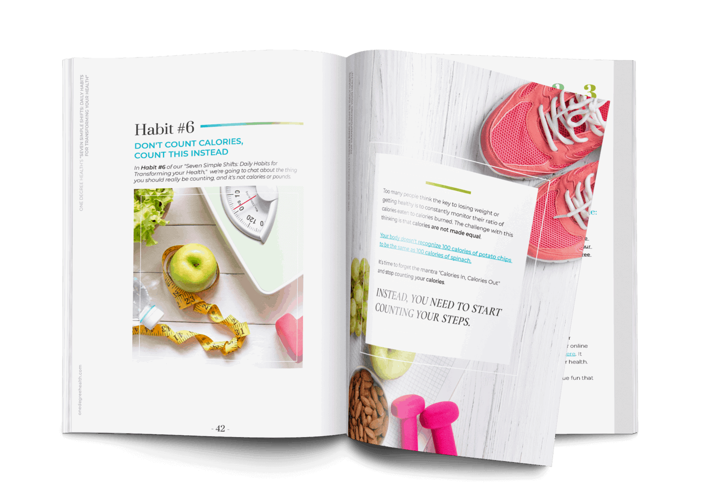 ODH Magazine Habit6 Steps - 7 Habits to Transform your Health - Download Action Guide PDF