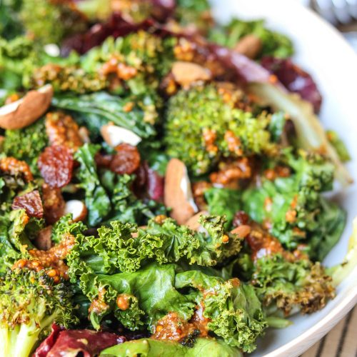 broccoli kale salad 5 500x500 - Stress-busting Kale Salad