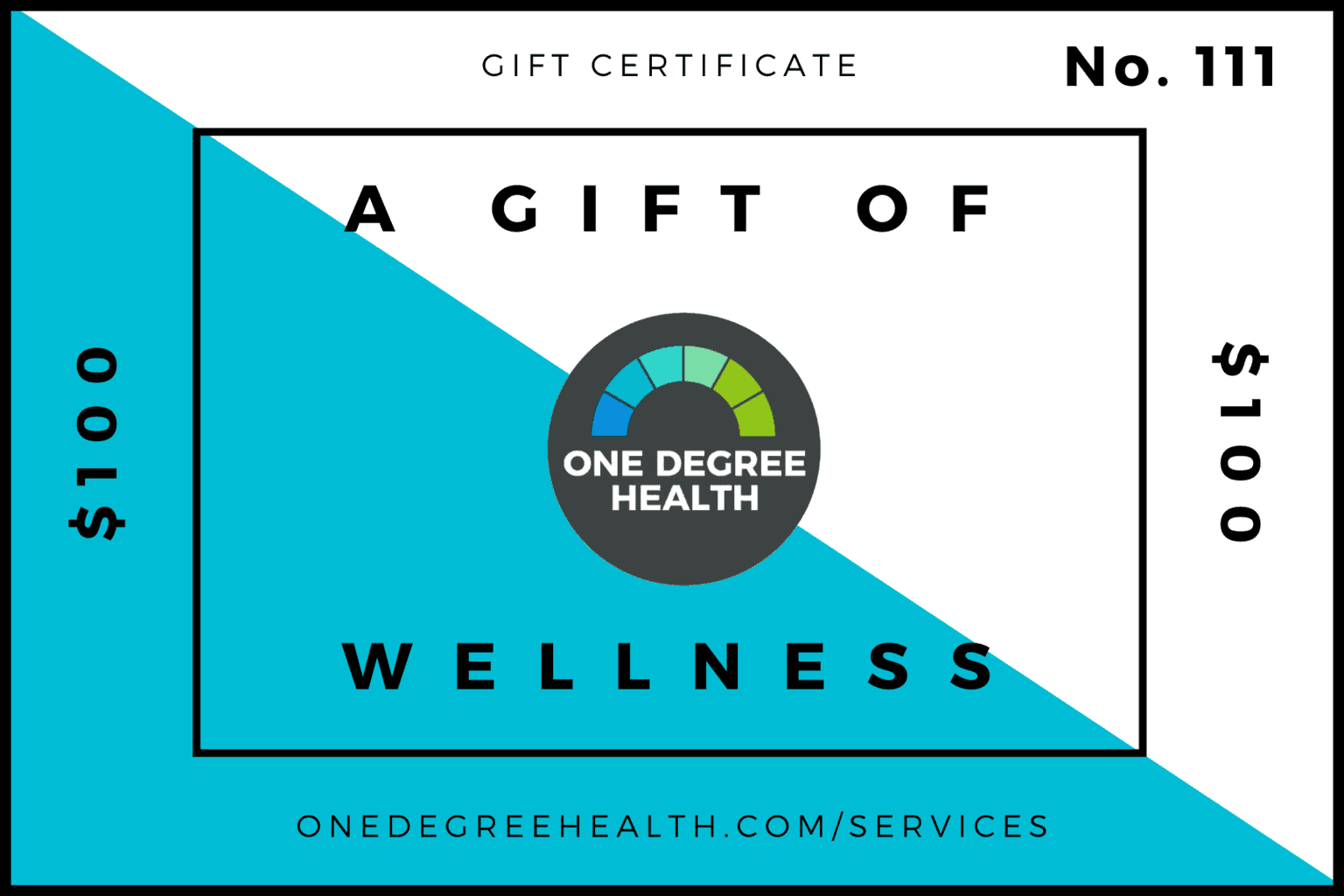 Save 20% on One Degree Health Gift Certificates